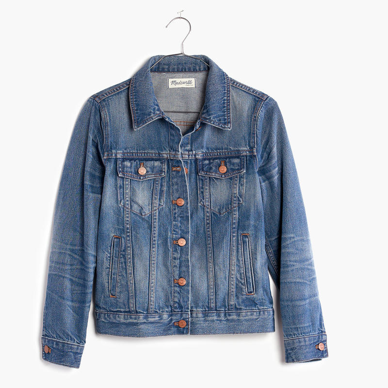 Madewell Jean Jacket in Pinter Wash