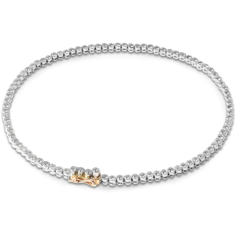 Bentley & Skinner A Diamond Line Bracelet gift to Meghan Markle from Prince Charles
