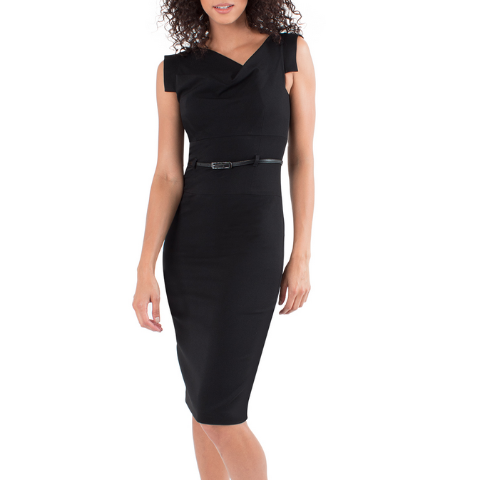 a60081fab4a Black Halo Jackie O Dress - Meghan Markle Dresses - Meghan s Fashion