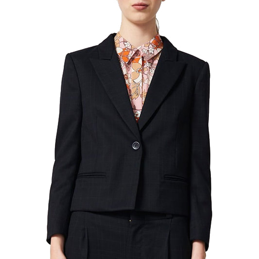 Karen Walker Fathom Dark Navy Jacket
