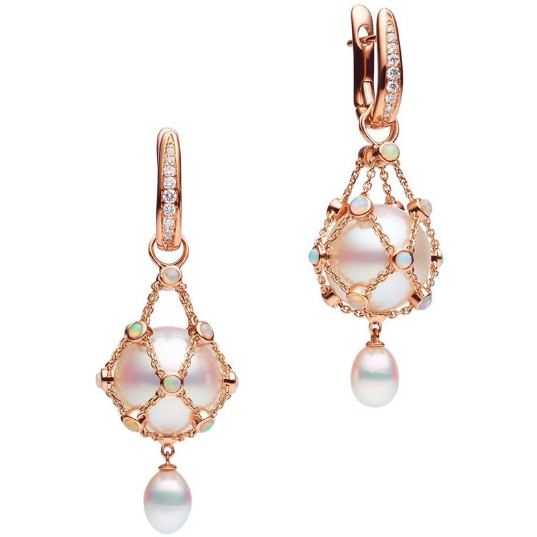 Paspaley Lavalier Circlé Pearls Earrings