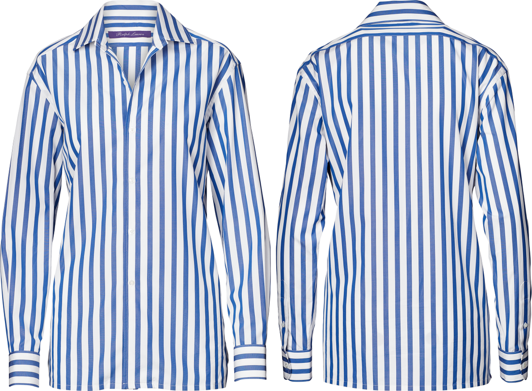 Ralph Lauren Collection Striped Cotton Shirt
