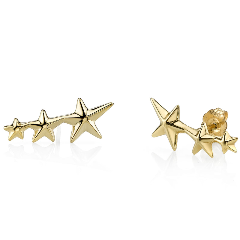 Gabriela Artigas Triple Shooting Star Earring