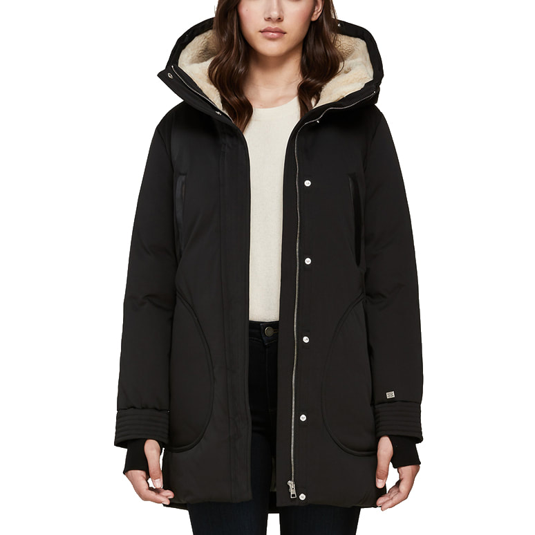 Meghan Must-Haves SOIA & KYO 'Saundra' Down Coat