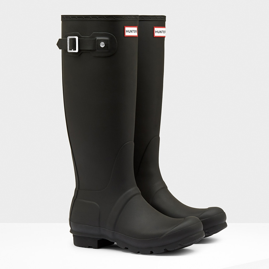 Black HUNTER Original Tall Rain Boots