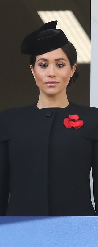 Givenchy Black Caplet Coat as seen on Meghan Markle, the Duchess of Sussex