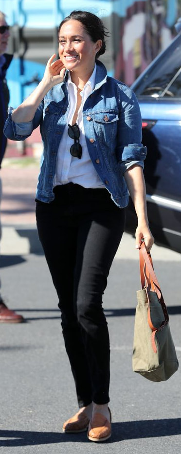 Madewell Jean Jacket in Pinter Wash as seen on Meghan Markle, the Duchess of Sussex