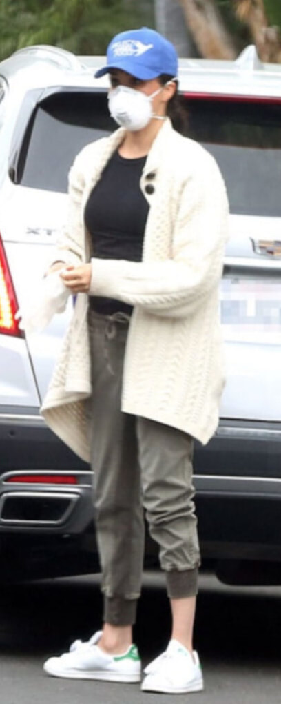 Stella McCartney Draped Cable-Knit Wool and Alpaca-Blend Cardigan as seen on Meghan Markle, the Duchess of Sussex