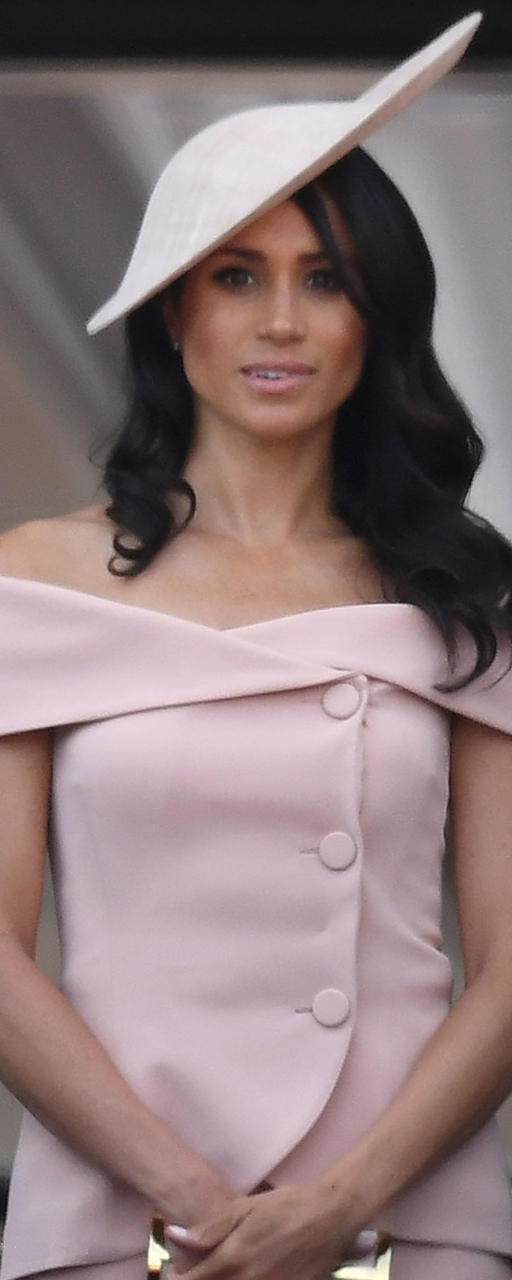 Les Plaisirs de Birks Yellow Gold and Opal Earrings as seen on Meghan Markle at Trooping the Colour 2018