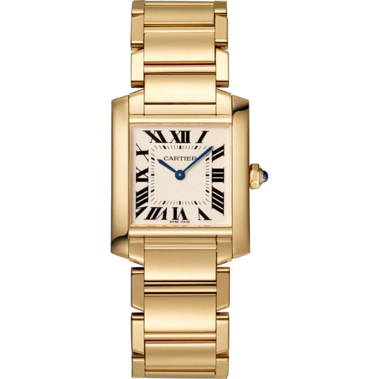Princess Diana's Gold Cartier Tank Française Watch