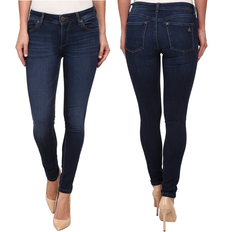 DL1961 'Emma' Power Legging Skinny Jeans