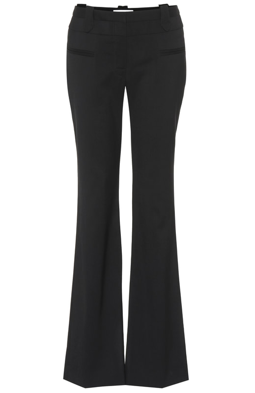 Altuzarra 'Serge' ​High-Waist Boot-cut Wool Pants