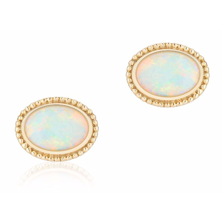 Les Plaisirs de Birks Yellow Gold and Opal Earrings