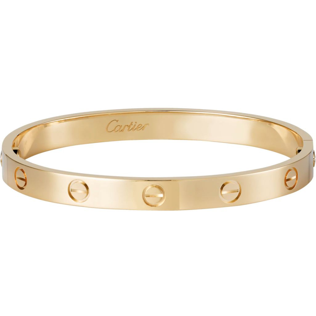 Cartier 'Love' Yellow Gold Bracelet