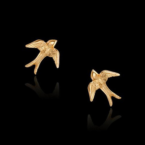 Catherine Zoraida Swallow Stud Earrings