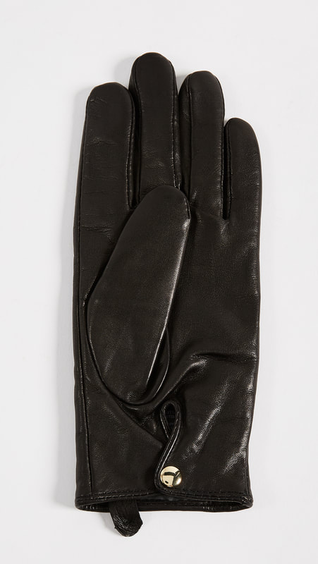 Club Monaco 'Claudia' Tech Leather Gloves