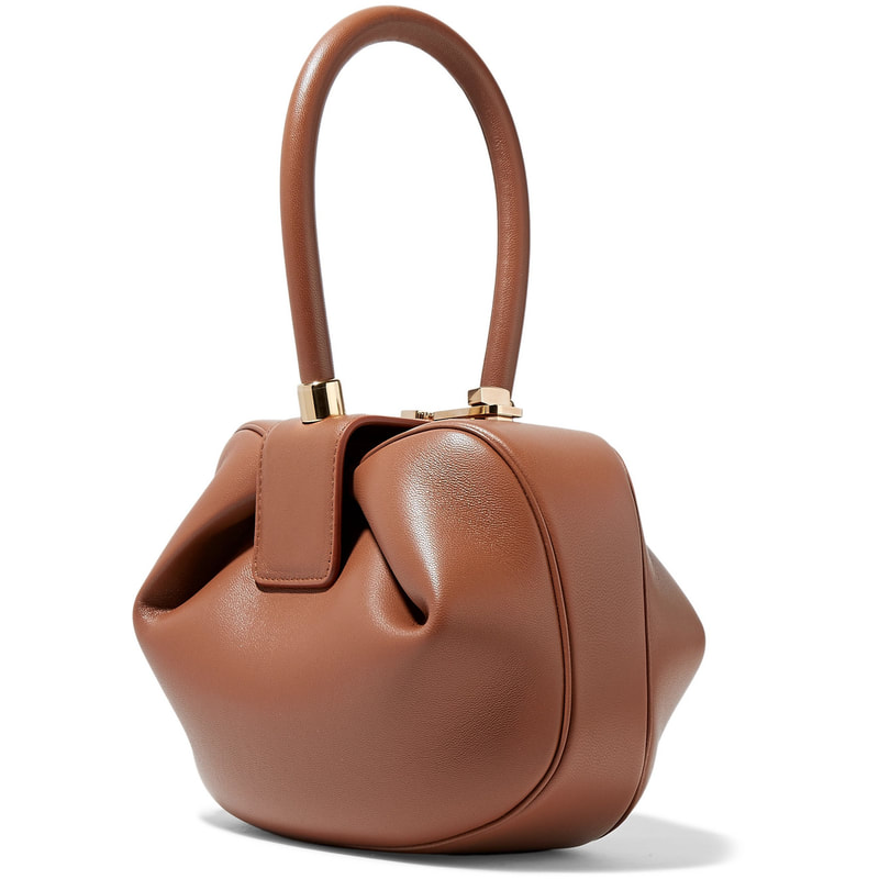 Gabriela Hearst Nina Cognac Leather Tote Handbag