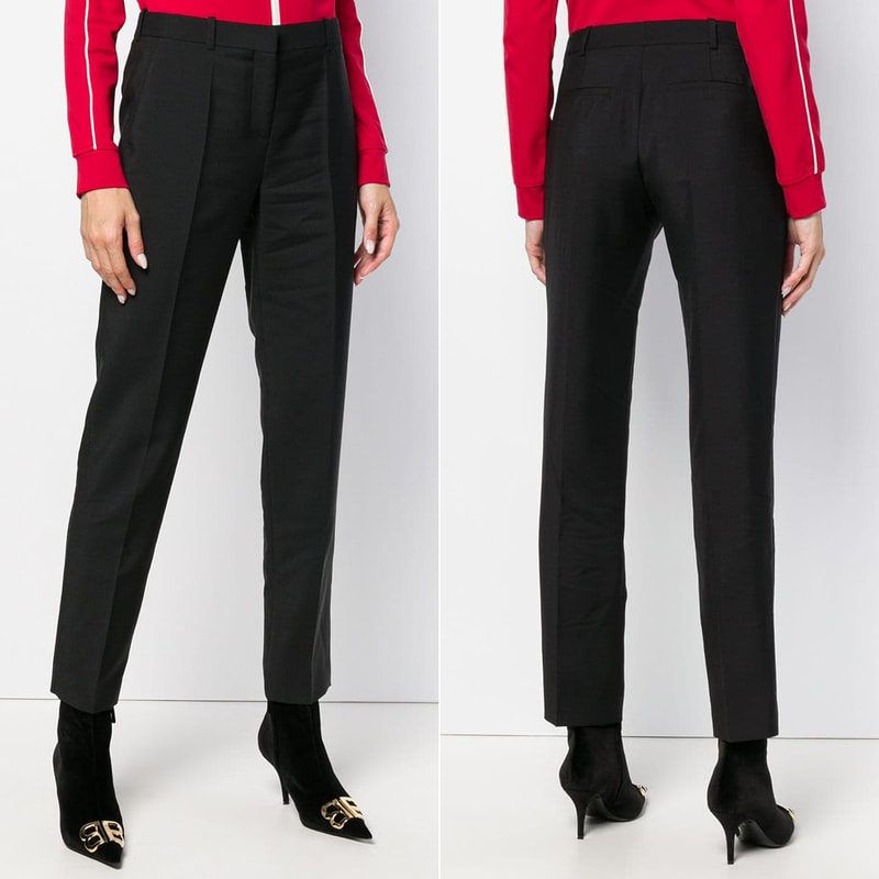 Givenchy Black Tapered Trousers