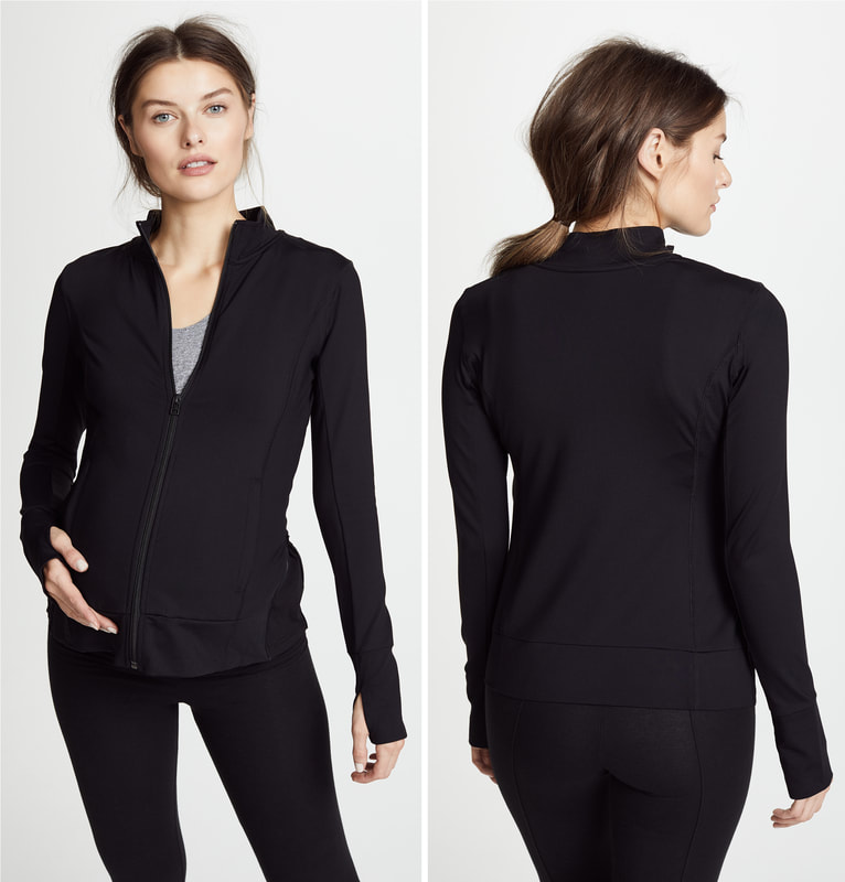 Ingrid & Isabel Active Side Zip Maternity Jacket
