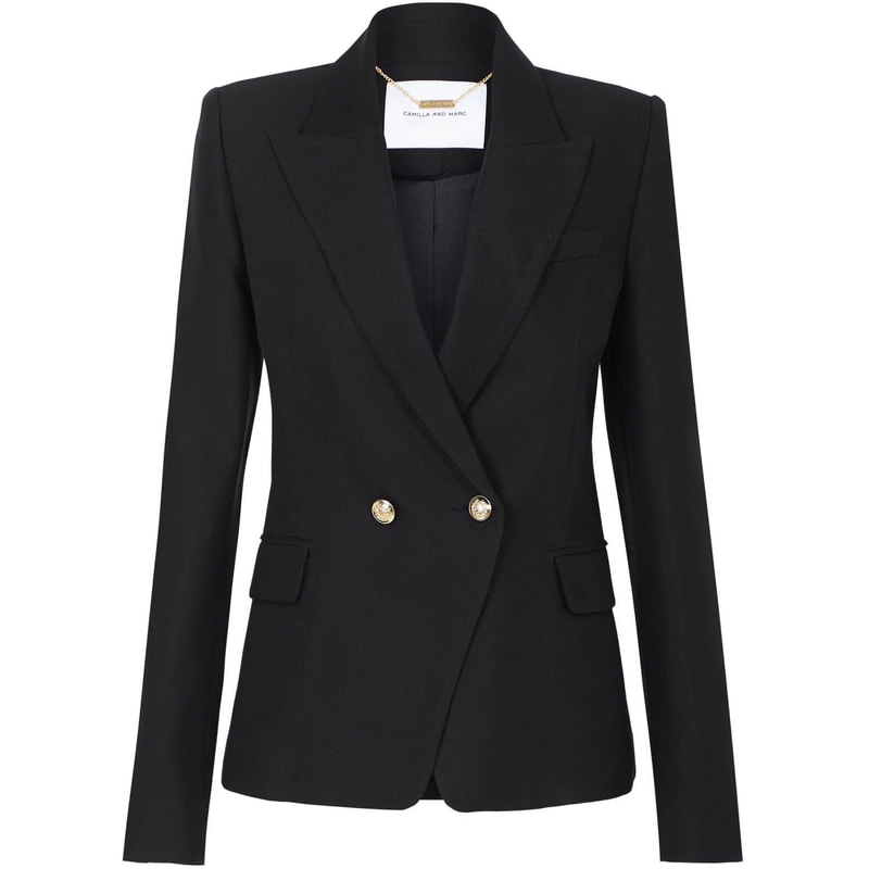 Camilla and Marc Black 'Marguerite' Blazer