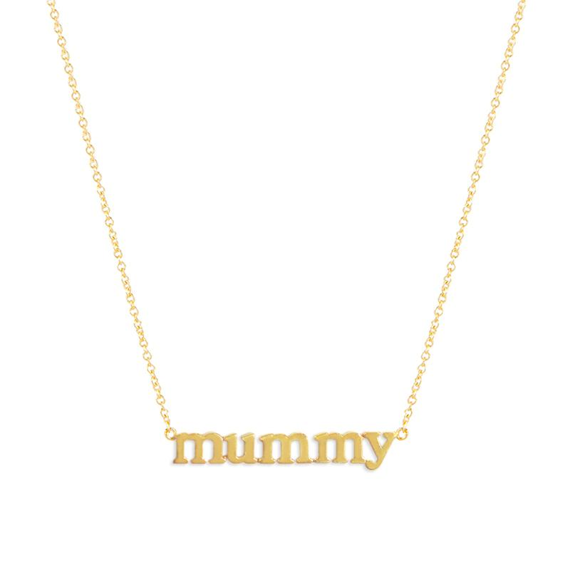 Jennifer Meyer 'Mummy' Necklace