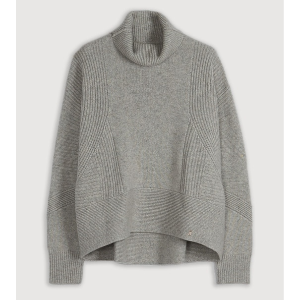 Kit and Ace Ash Turtleneck in Heather Mist