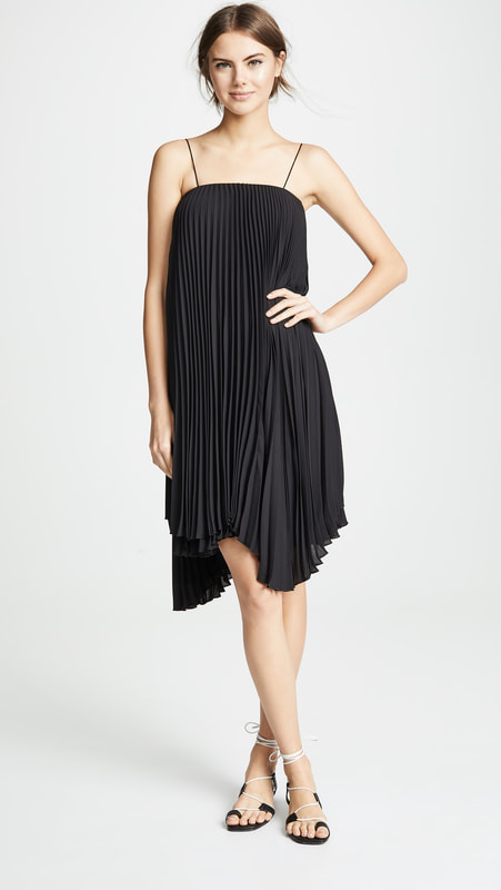Loyd/Ford Pleated Mini Dress Dress