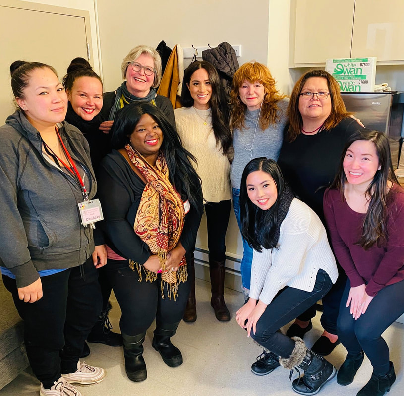 Duchess Meghan Markle visits Downtown Eastside Women's Centre in Vancouver January 2020