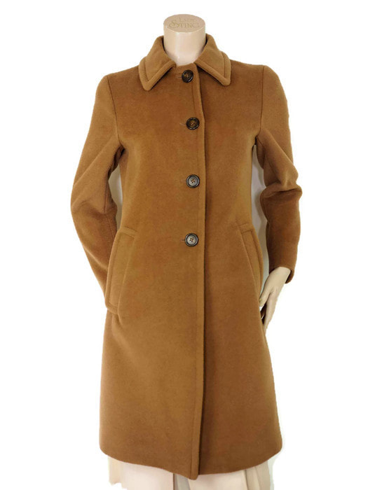 Prada camel wool coat