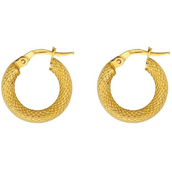 Roxanne First The Gold Snake Hoops (Small)​