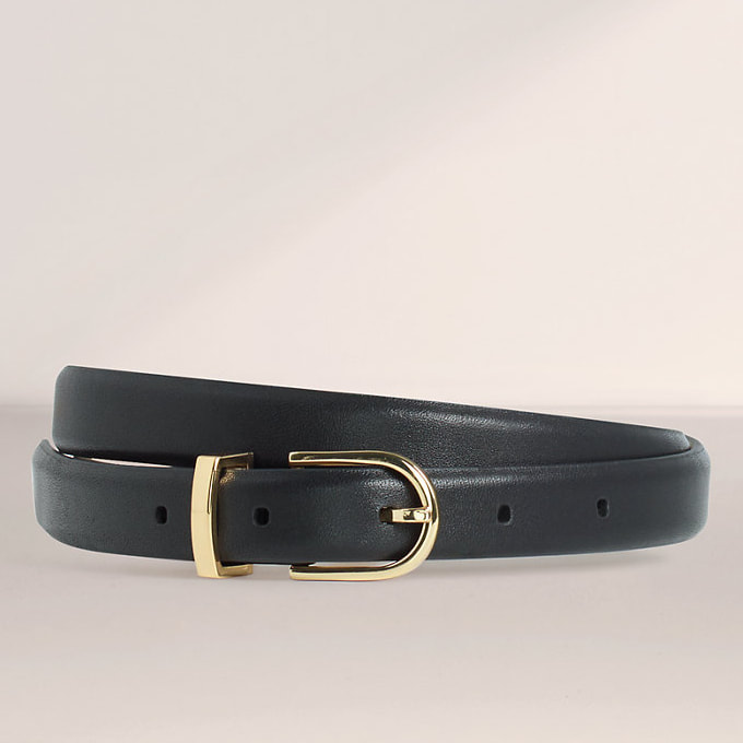 Aritzia Babaton Amos Black Dress Belt