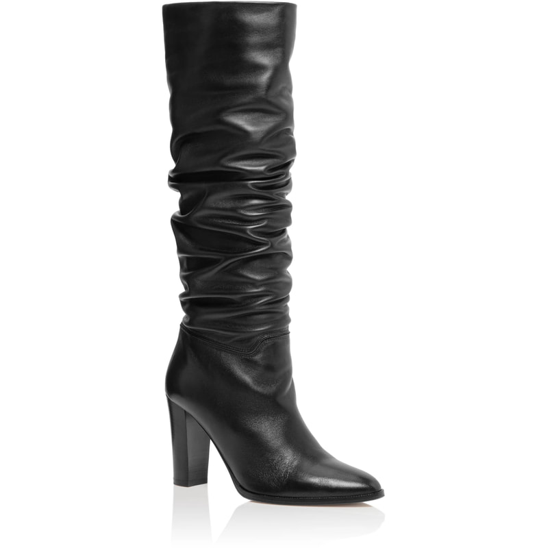 Tamara Mellon 'PIC' Black Knee High Boots