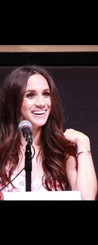 Giles & Brother Gold Railroad Spike Cuff Bracelet as seen on Meghan Markle
