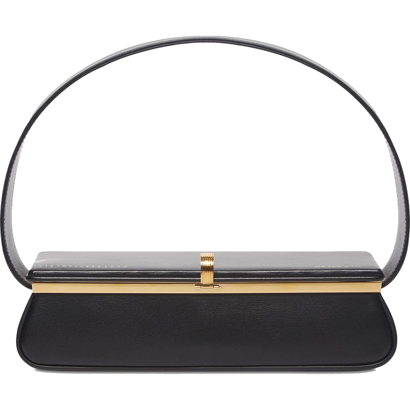 Victoria Beckham Black Powder Box Bag