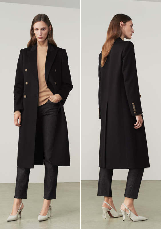 Victoria Beckham Tailored Slim Coat
